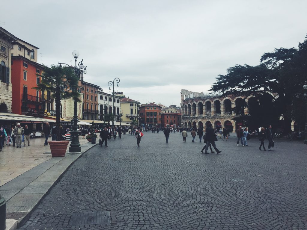 Piazza Brá Verona Italy