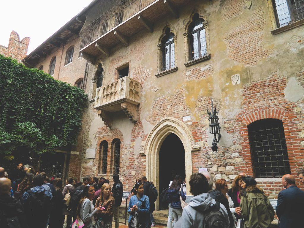 Verona Italy Romeo and Juliet Balcony