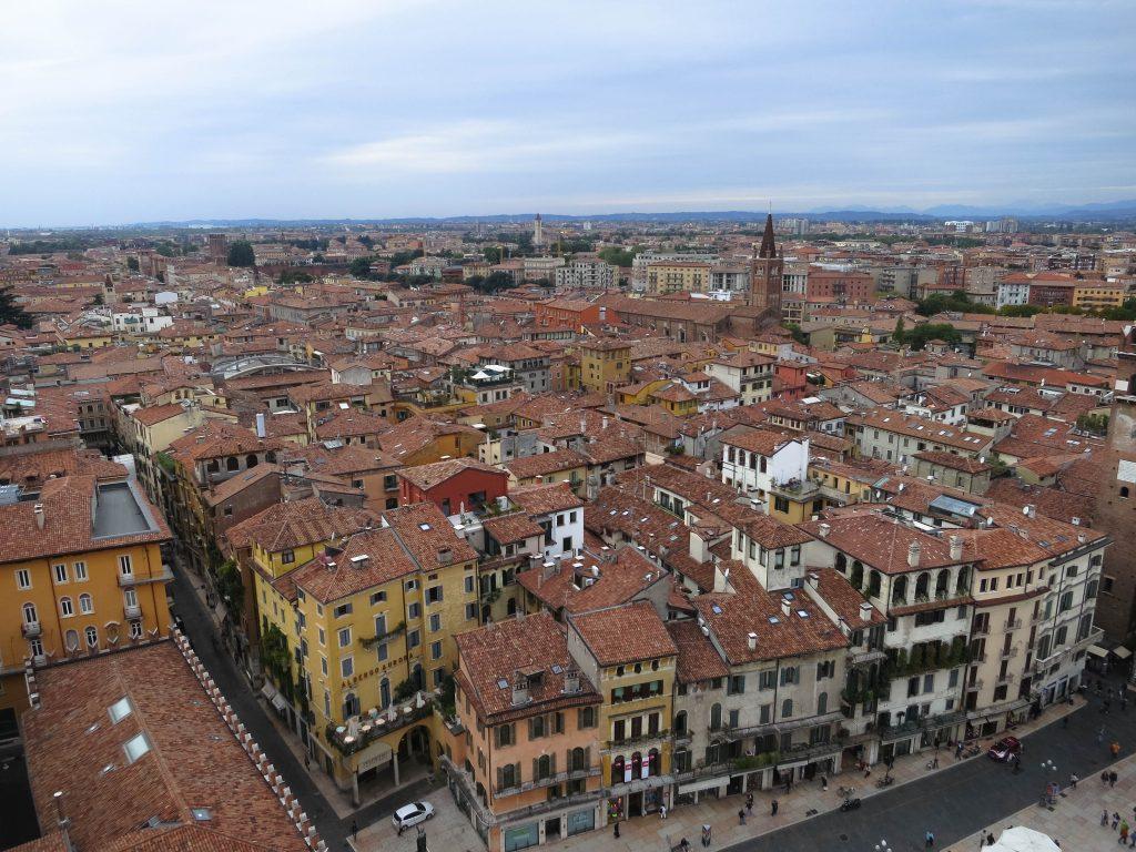 Verona Italy Torre dei Lamberti