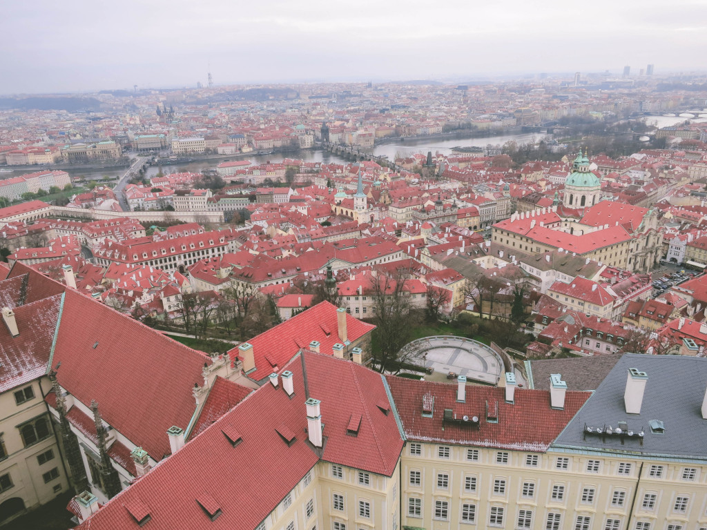 Prague from St Vitus Tower