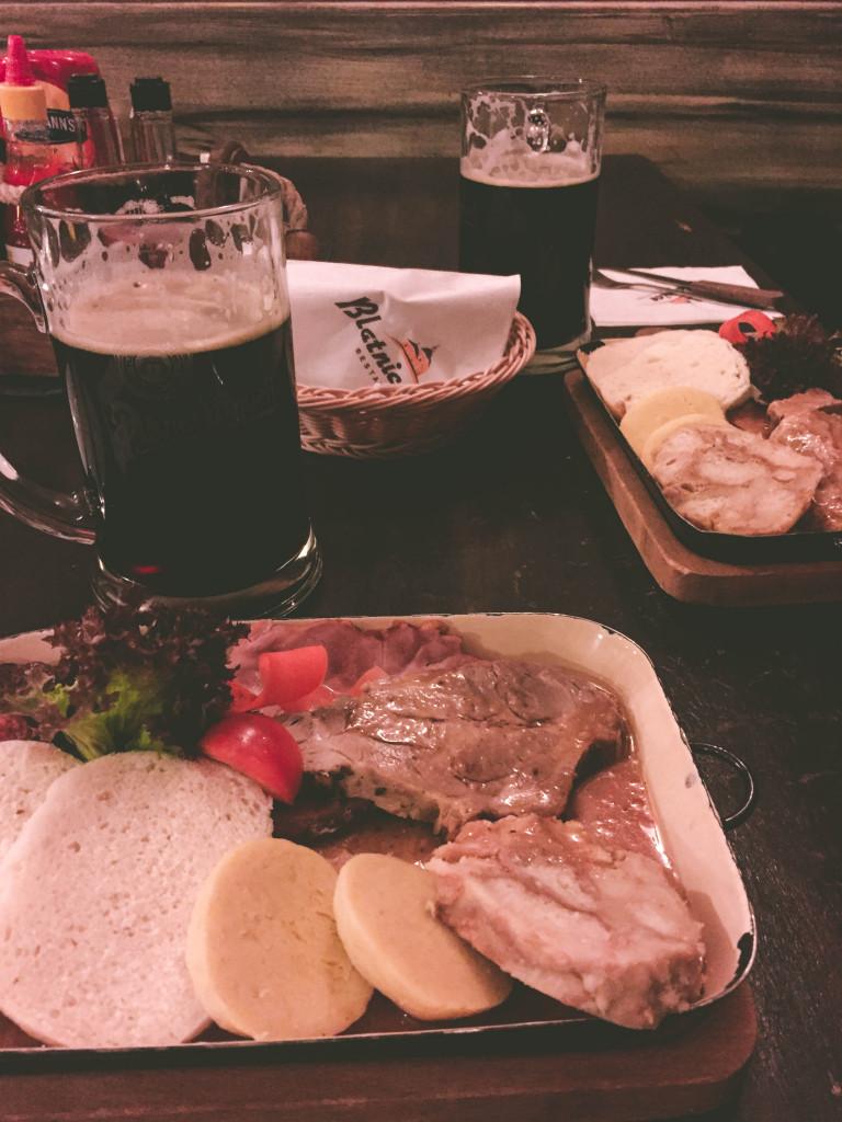 Final Dinner in Prague