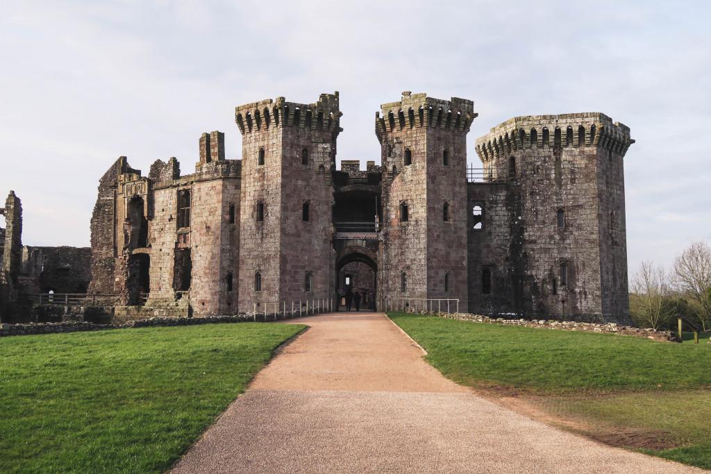 Raglan Castle Wales