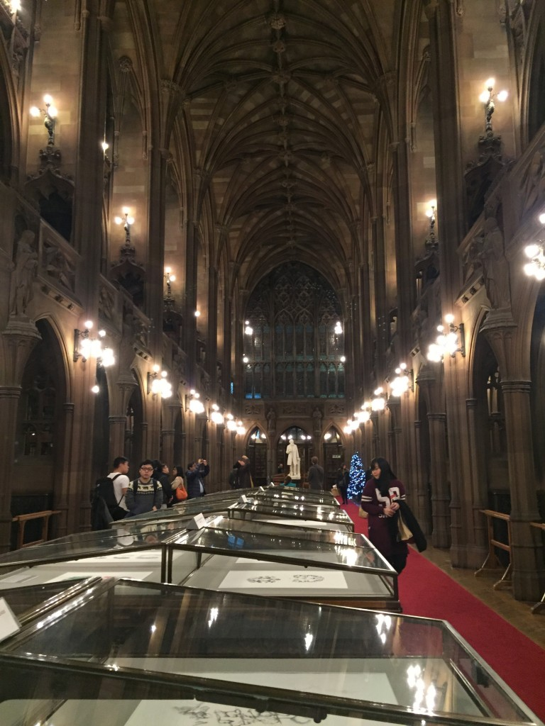John Rylands Library Manchester things to do around manchester