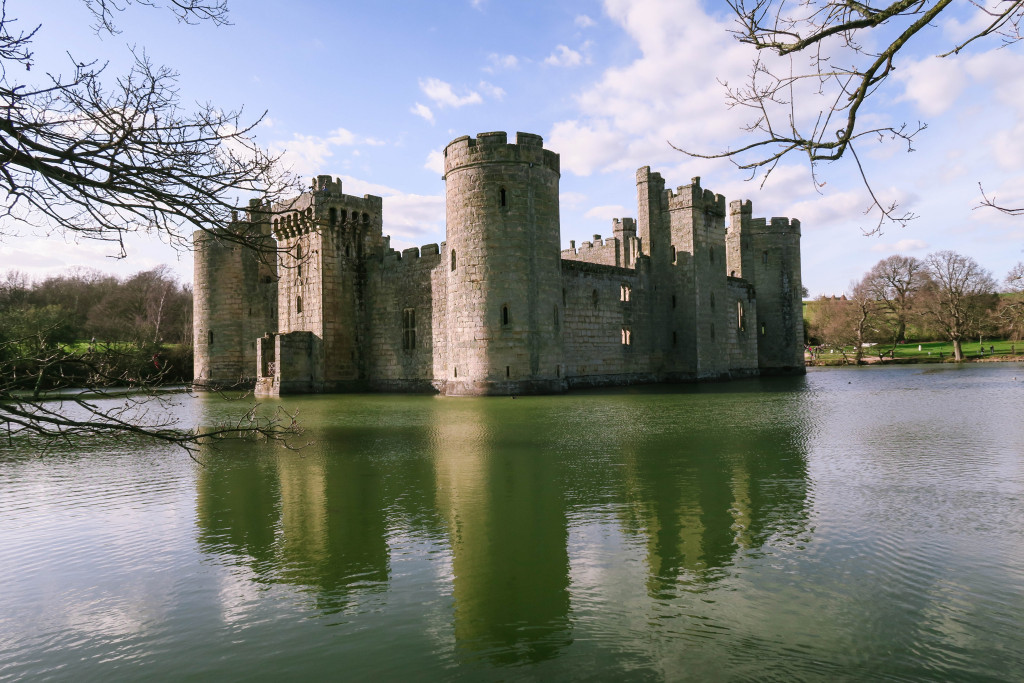 Bodiam Castle, castles in England to visit