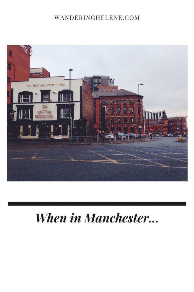 When in Manchester...Pinterest