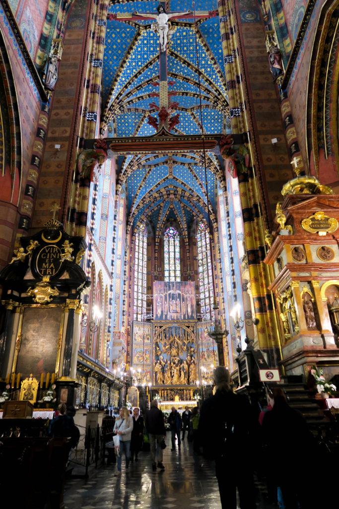 st marys basilica krakow poland