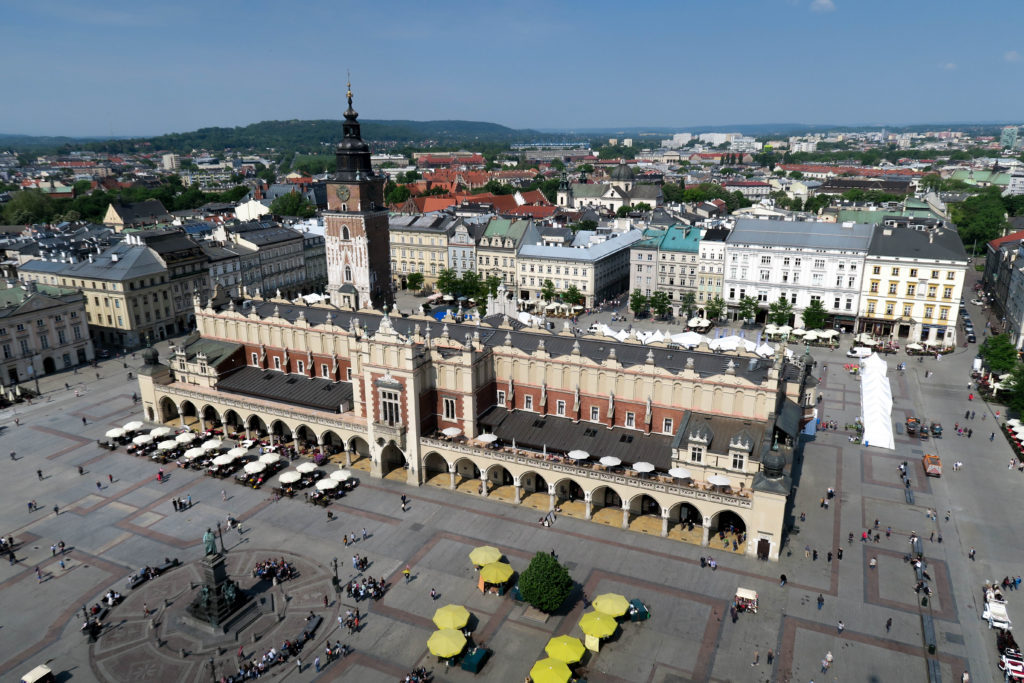 krakow poland main square