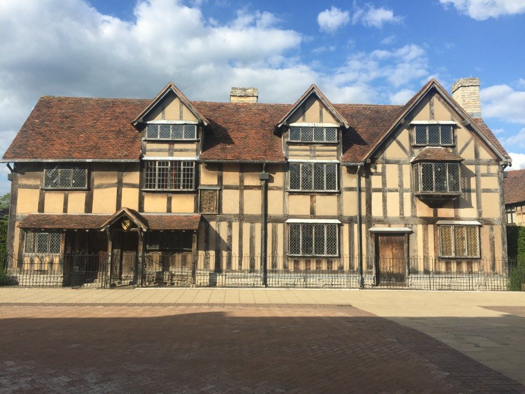 Stratford-upon-Avon shakespeare birthplace england