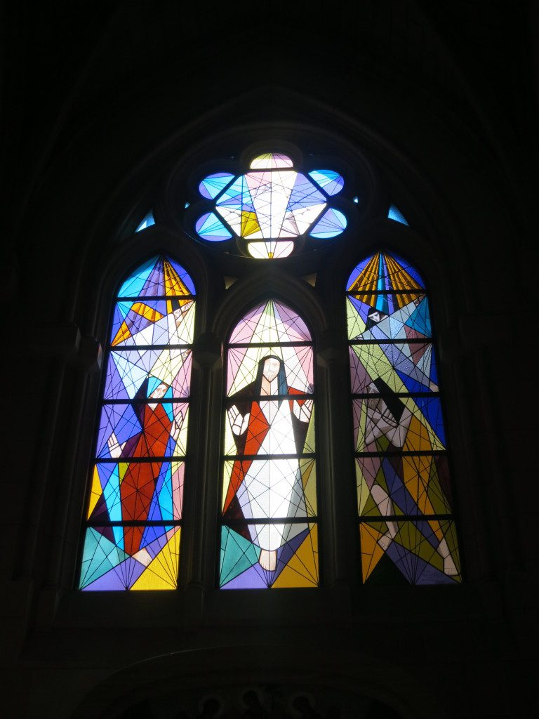 Almudena Cathedral Stained Glass