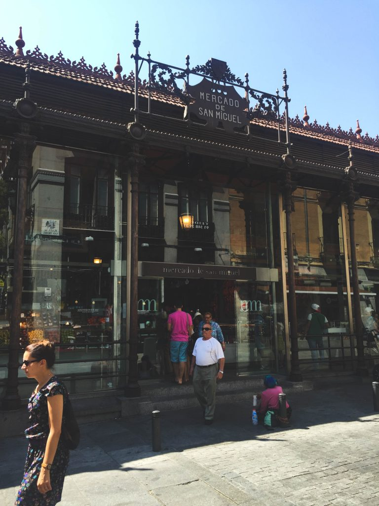Mercado de San Miguel Madrid Spain