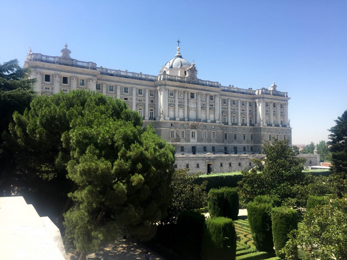 The Royal Palace Madrid Spain