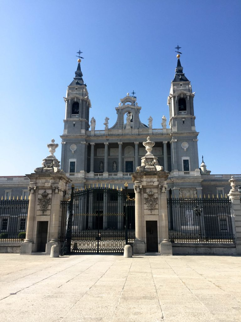 Cathedral Madrid Spain