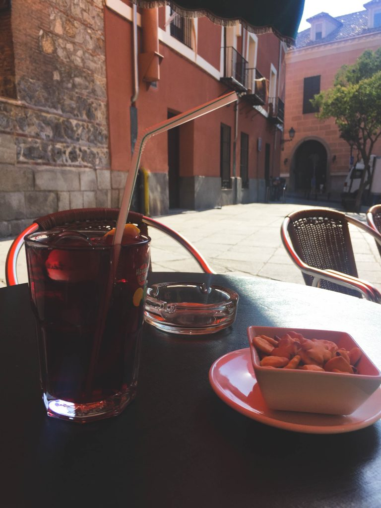 Sangria in Madrid Spain