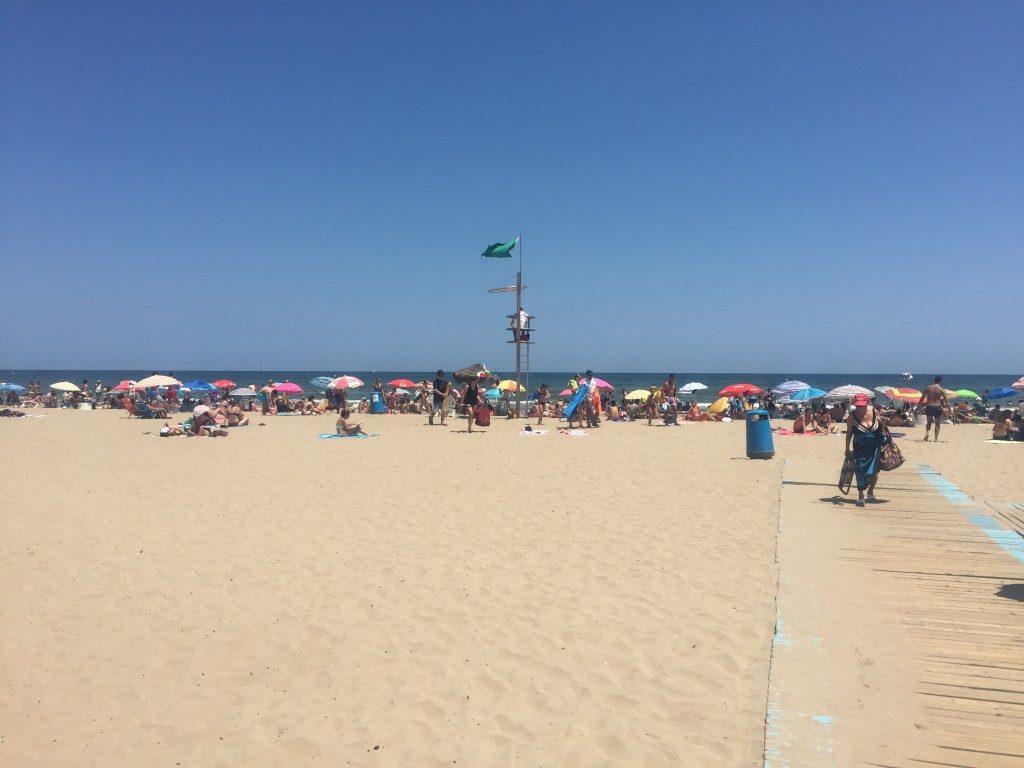 Playa de la Malvarrosa Valencia Spain