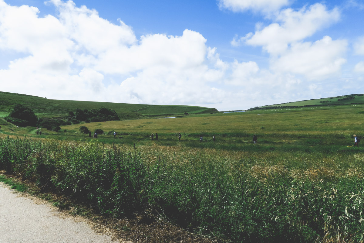 hiking Seven Sisters