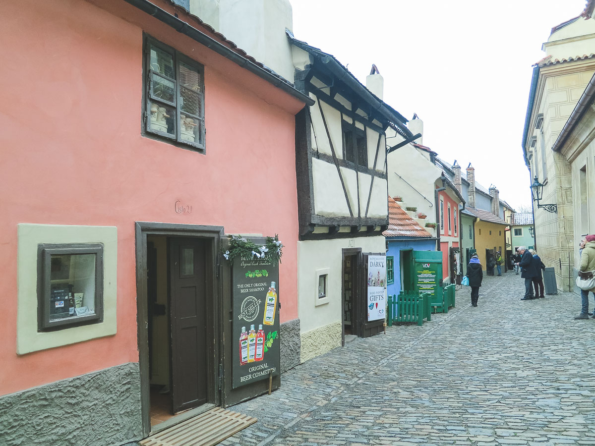 medieval prague - golden lane