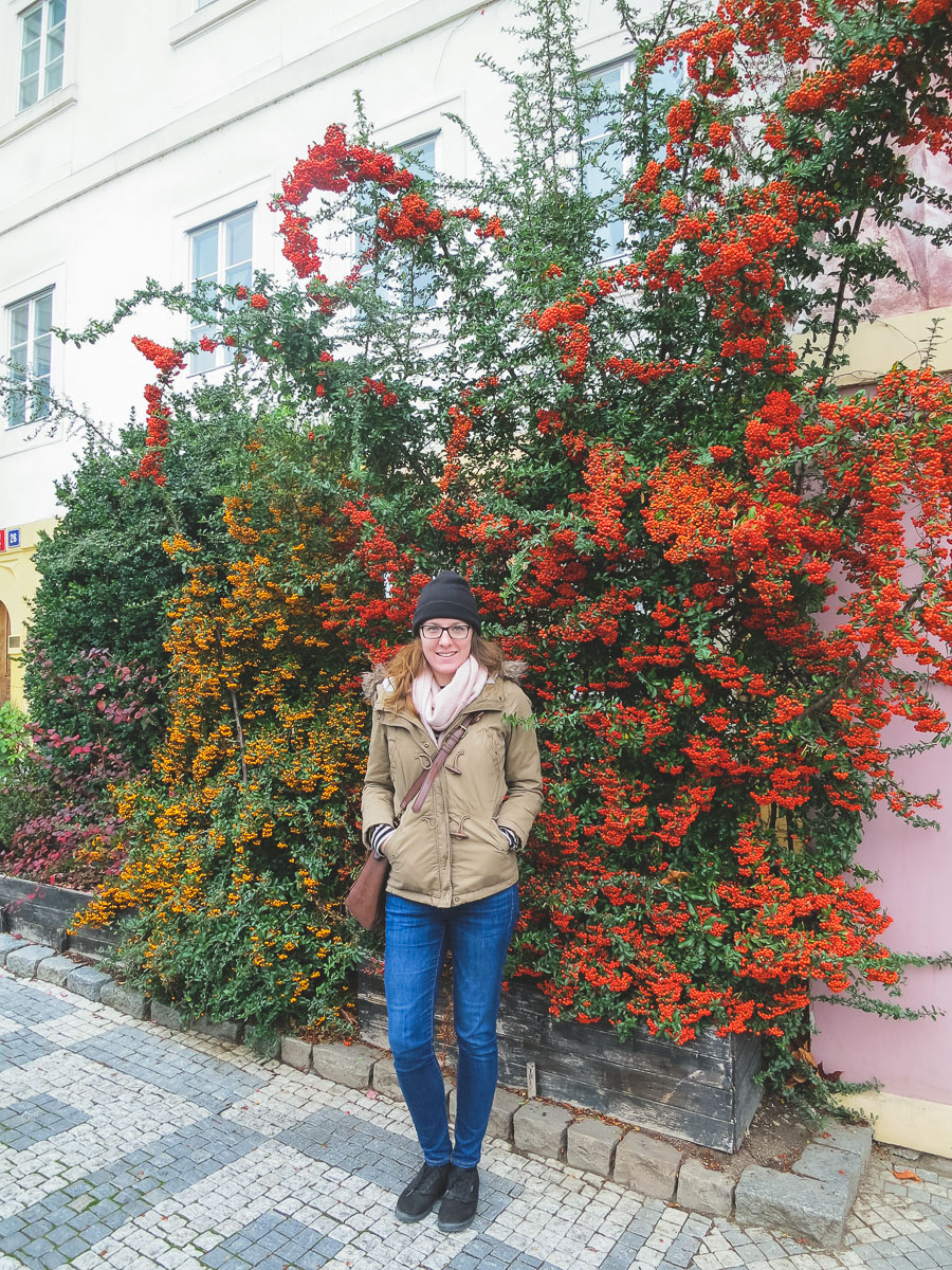 Wandering Helene in Prague