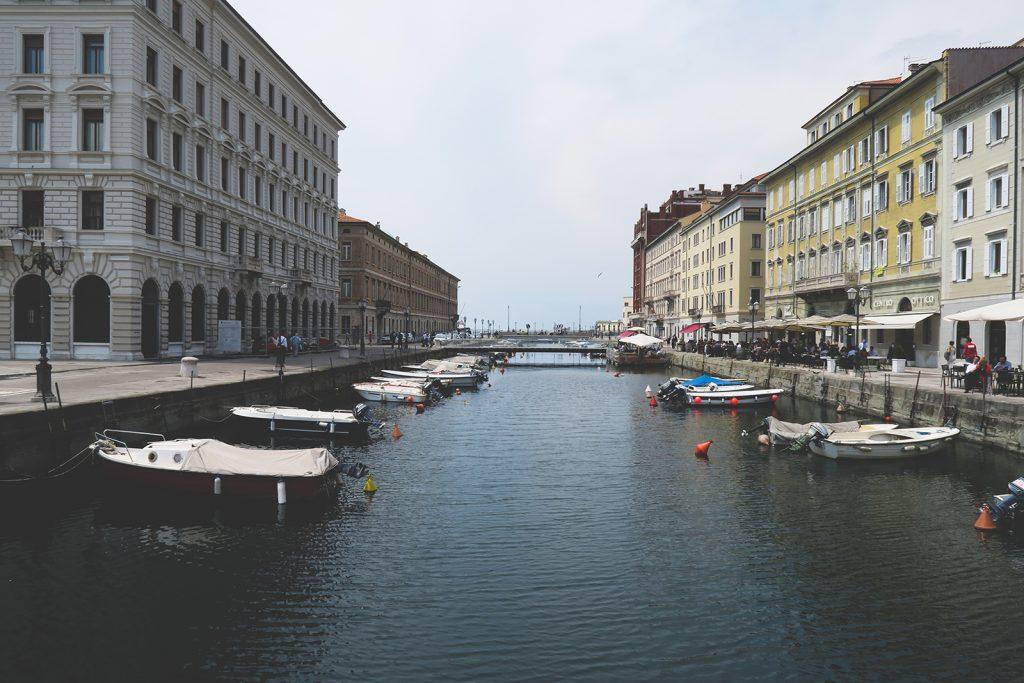 gran canal de Trieste