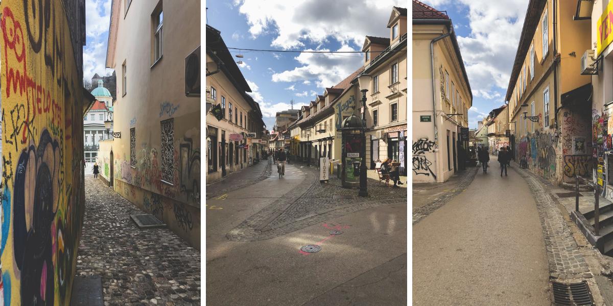 Trubarjeva in Ljubljana