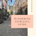 wandering ljubljana