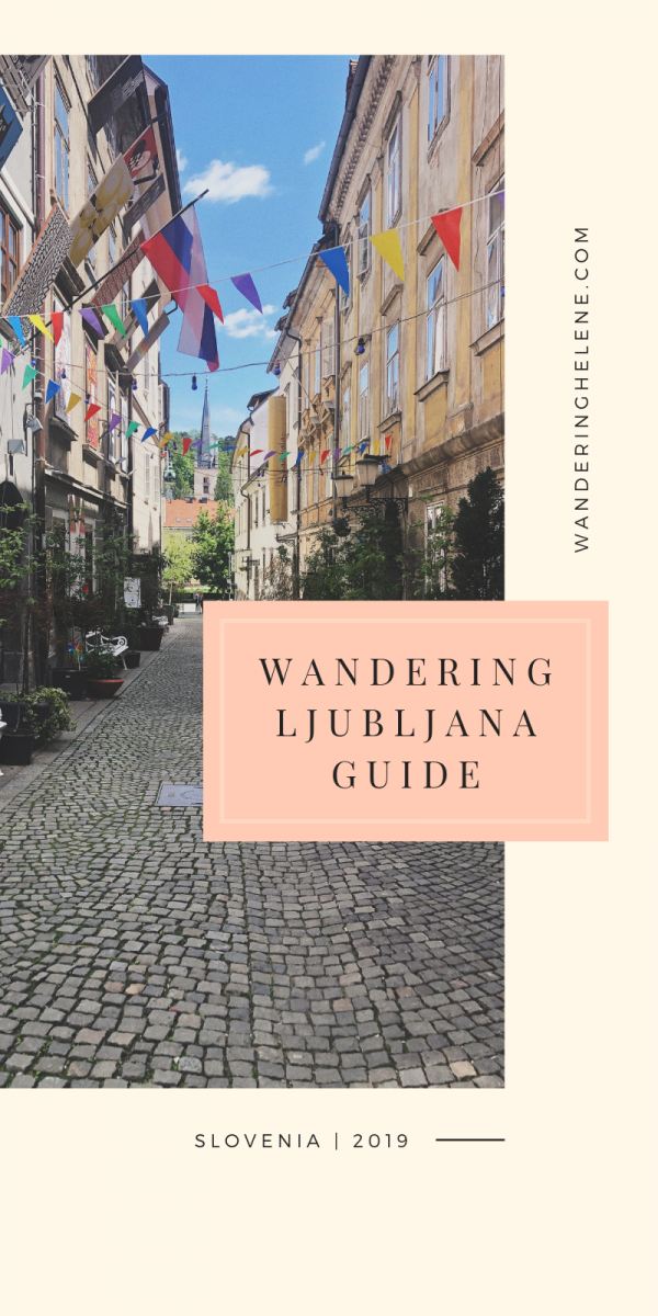 The ultimate Ljubljana Travel Guide written by a local! Everything you need to know about visiting the Slovenian capital city. What to do in Ljubljana, museums, sightseeing, where to eat in Ljubljana, and tips to save money. Also included are ideas for day trips around Slovenia! #slovenia #ljubljana #touristdestination #traveldestination #sustainability #travel #europeantravel