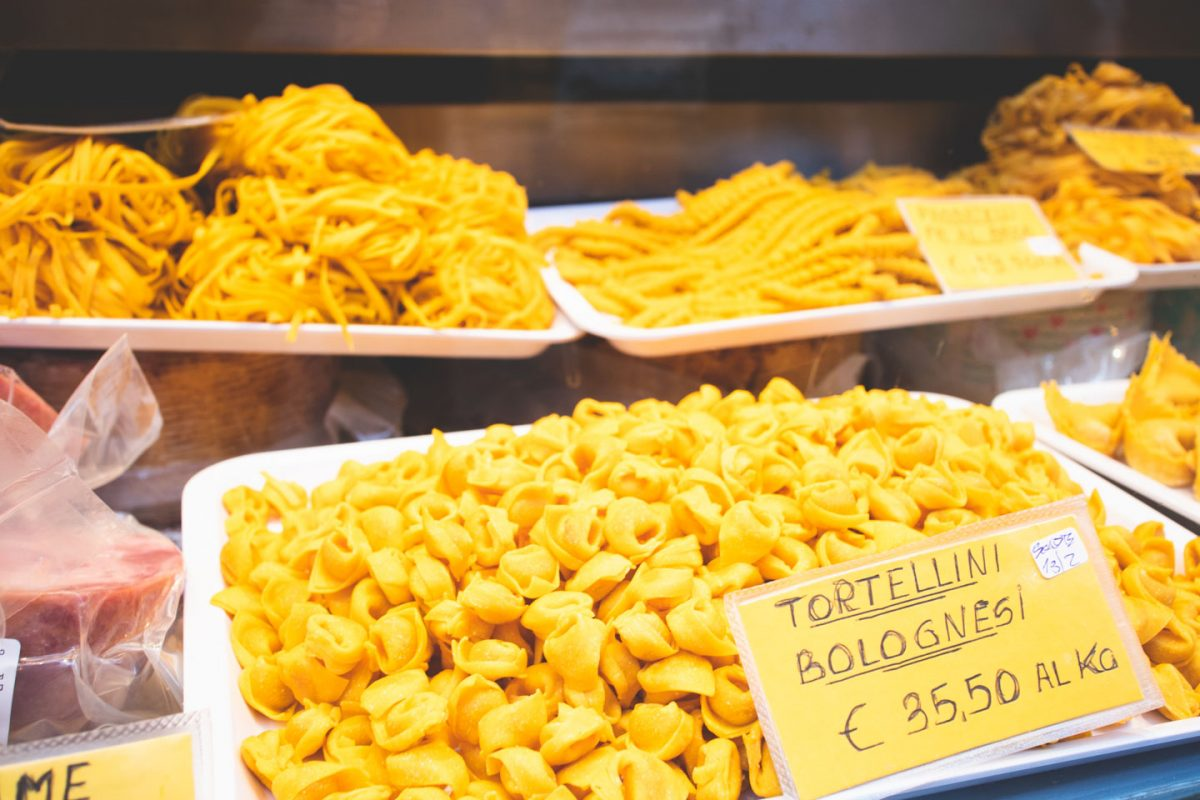 fresh pasta bologna