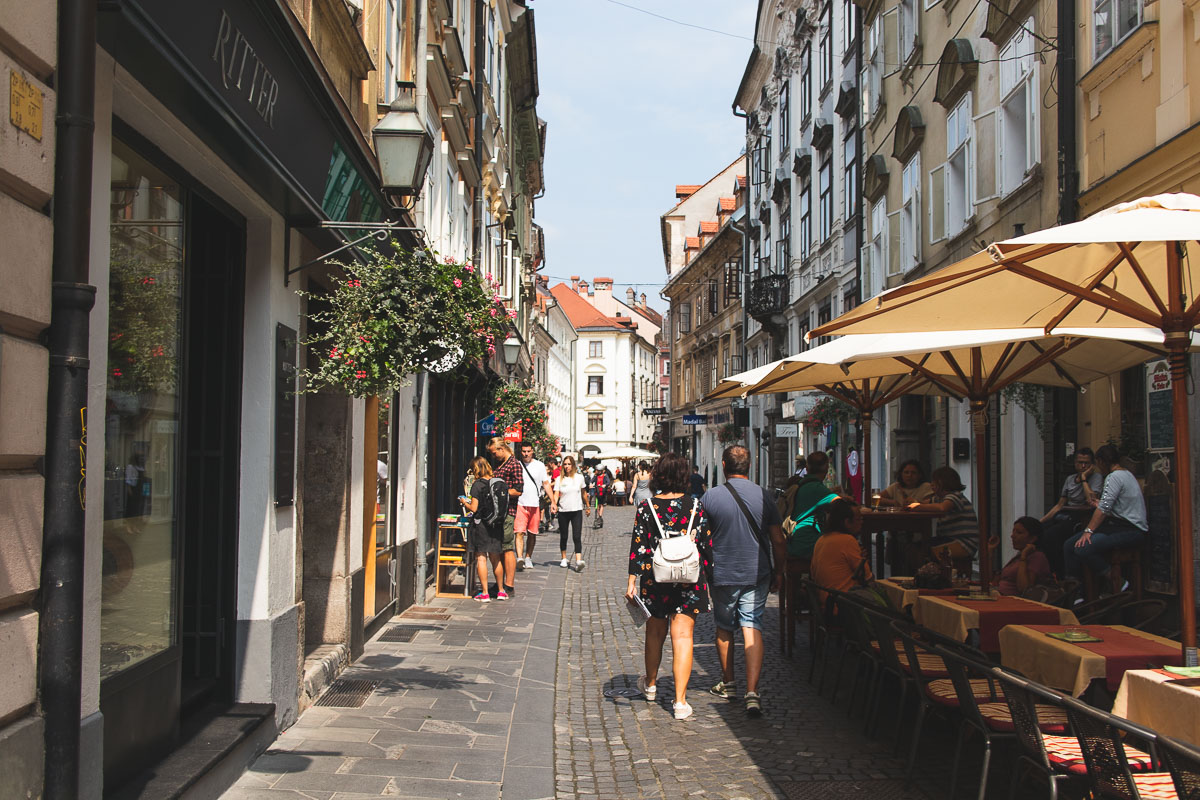 one day in ljubljana