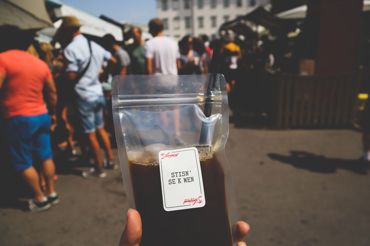 Iced tea in a bag odprta kuhna
