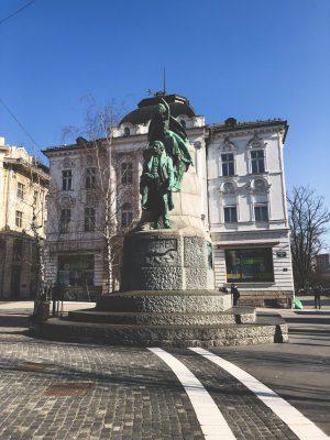 preseren square ljubljana