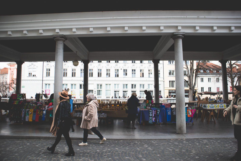 central market ljubljana slovenia