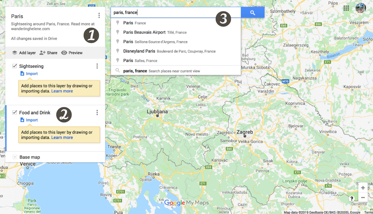 creating custom map google