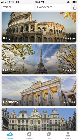 skyscanner must have apps