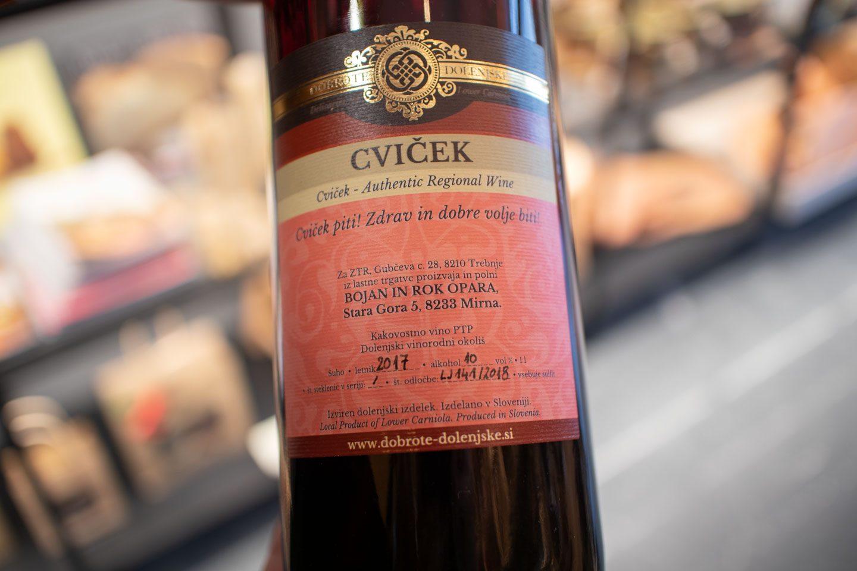 cviček wine from Dolenjska