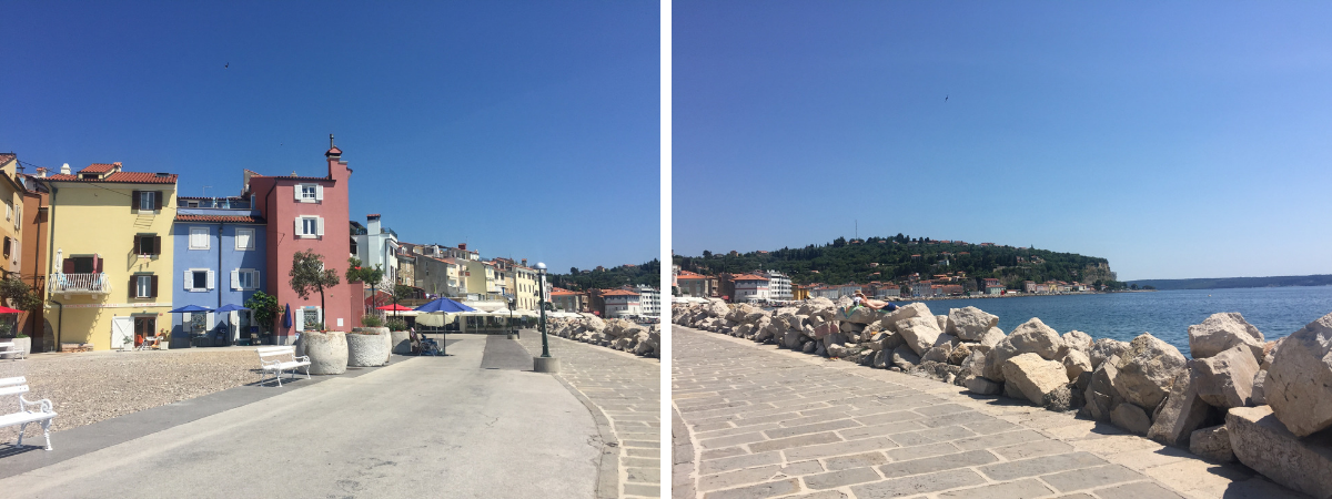 beaches of piran