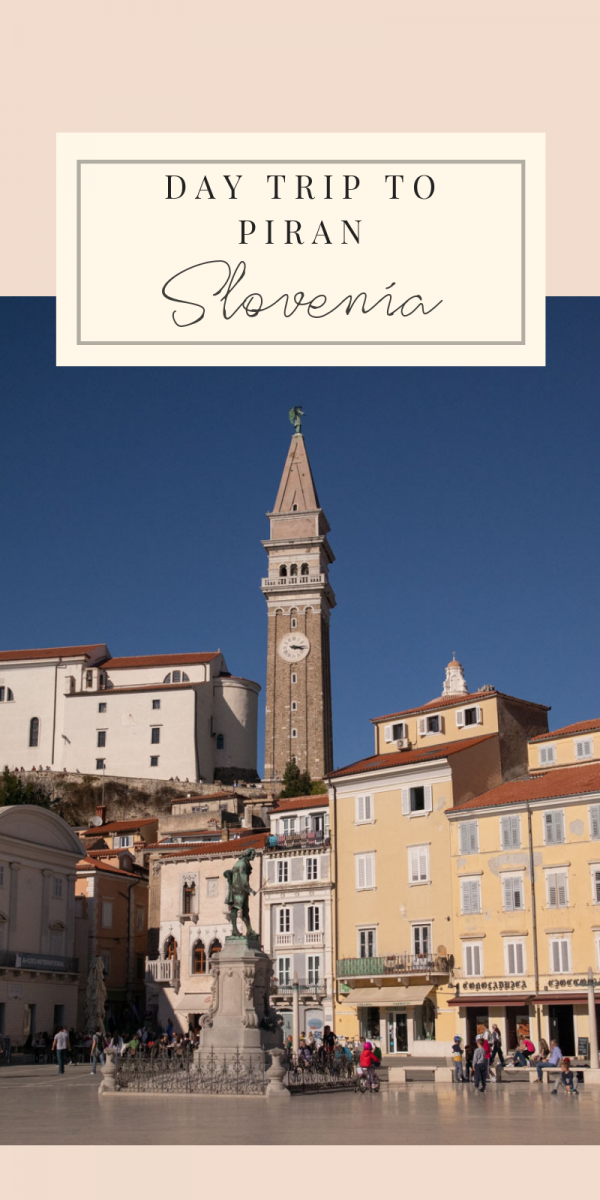 Everything you need to know about visiting Piran, Slovenia. The Venetian-style Slovenian seaside town is a hidden gem of the Adriatic. I share my recommendations on sightseeing and where to find the best seafood! #slovenia #piran #seaside #sloveniancoast #europeantravel