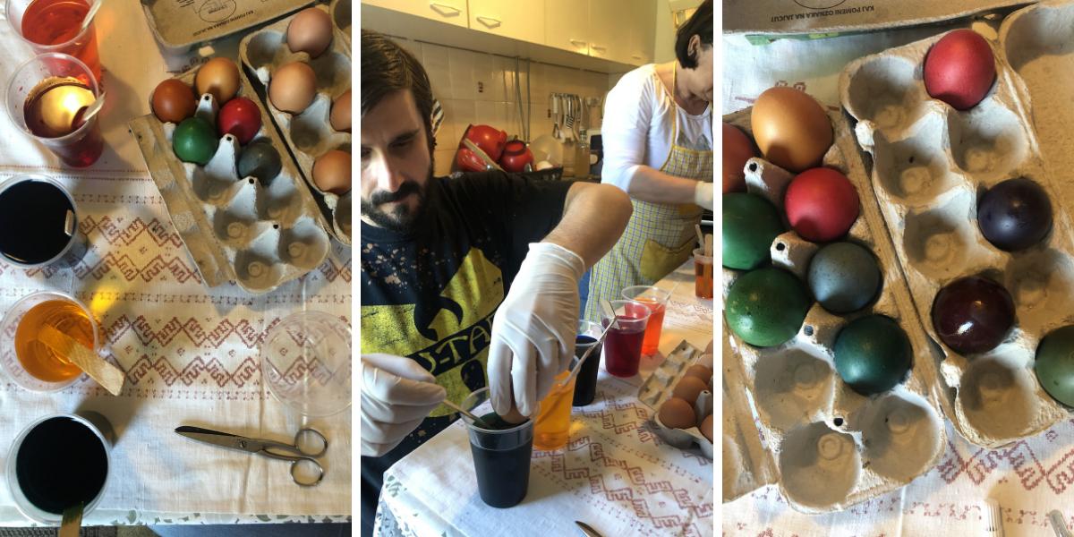 pirhi Slovenian eggs