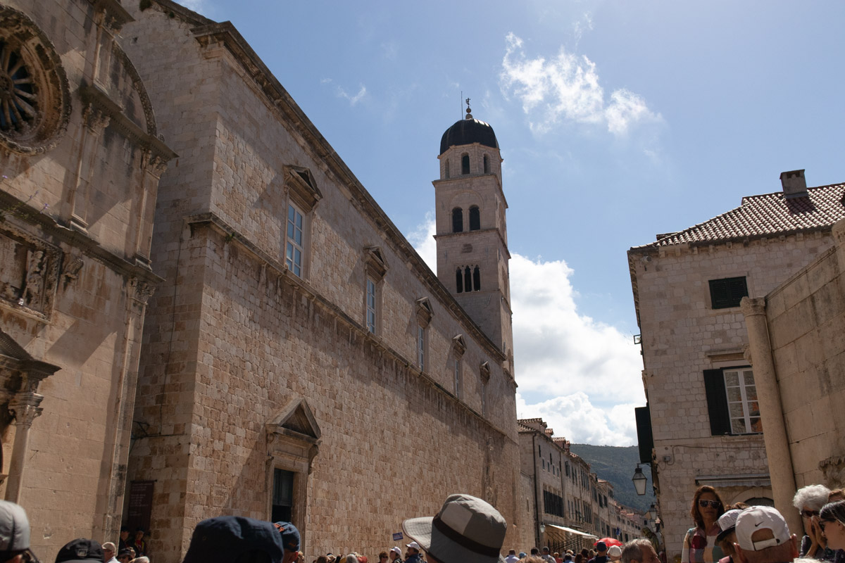 Monastary in Dubrovnik