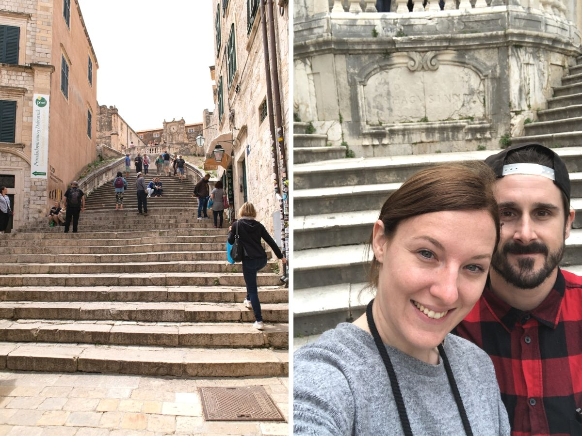Jesuit Stairs Dubrovnik Game of Thrones Shame Scene