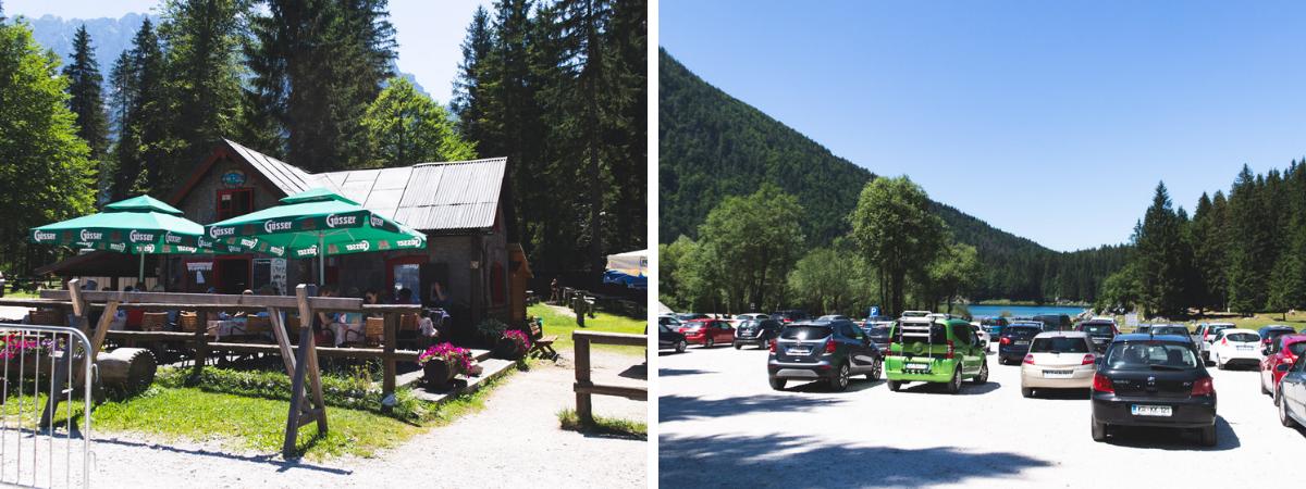 parking fusine lakes