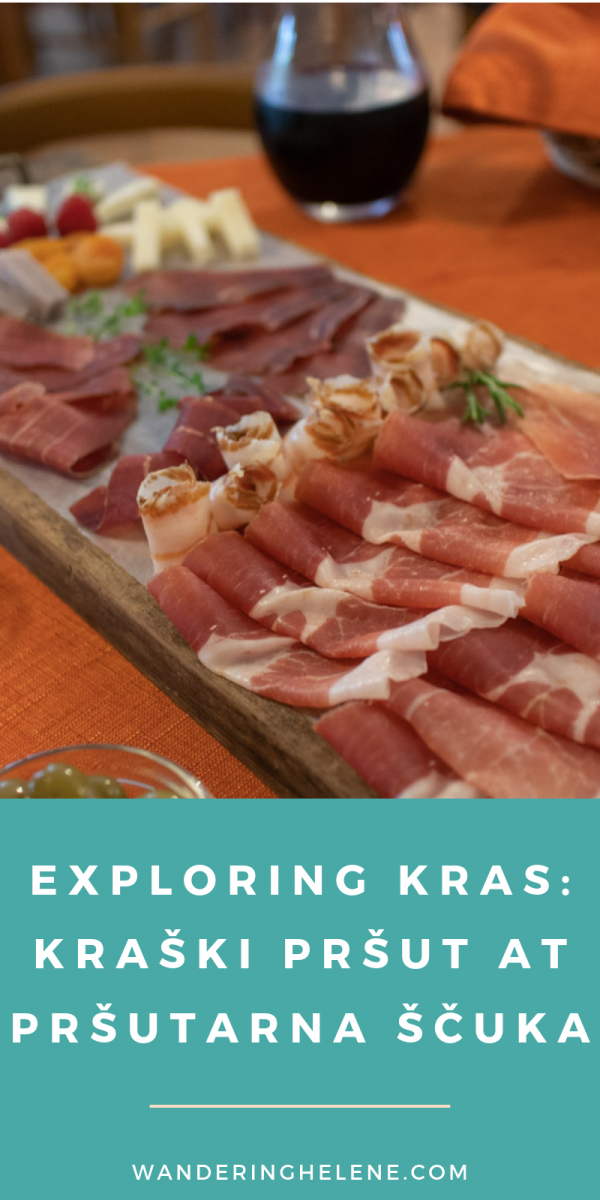 Learn about the Karst region of Slovenia and why it is incredibly unique place. How locals use the environment to produce some of the best prosciutto/pršut in the world and a deep red wine made from indigenous Slovene grapes. #slovenia #primorska #food #wine