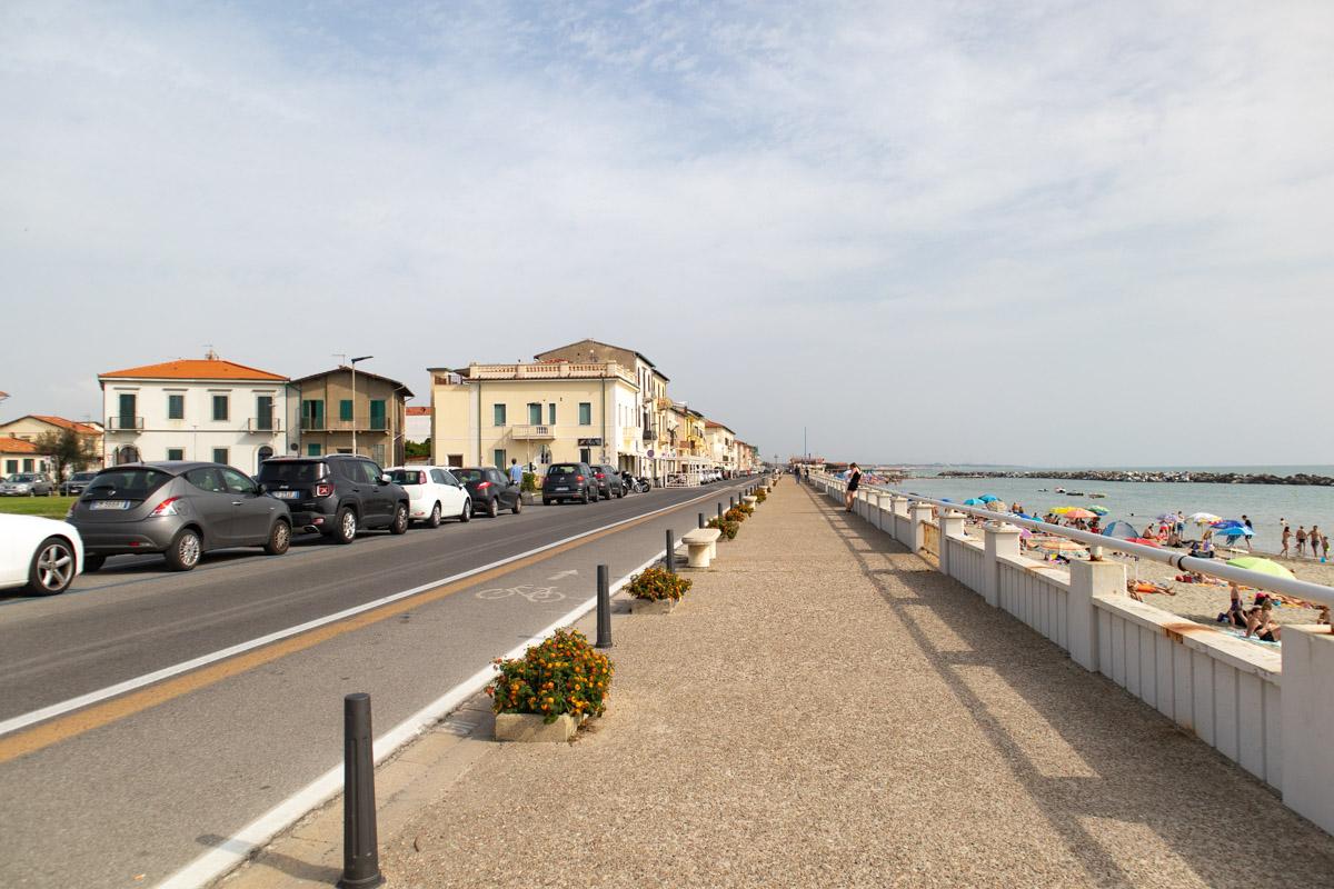 Tuscany beaches Marina di Pisa