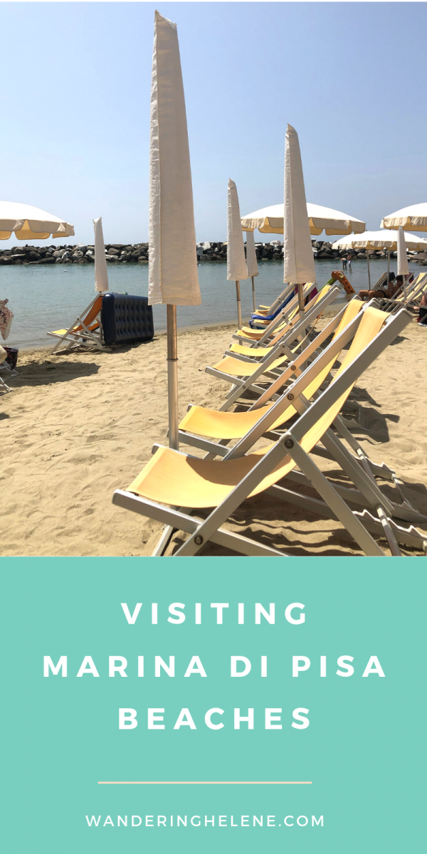 Marina di Pisa is the perfect beach near Pisa to visit! Rocky and sandy beaches, private bathing facilities, fresh seafood, and a church unlike any you have seen before. #pisa #beaches #travel #italy #italia