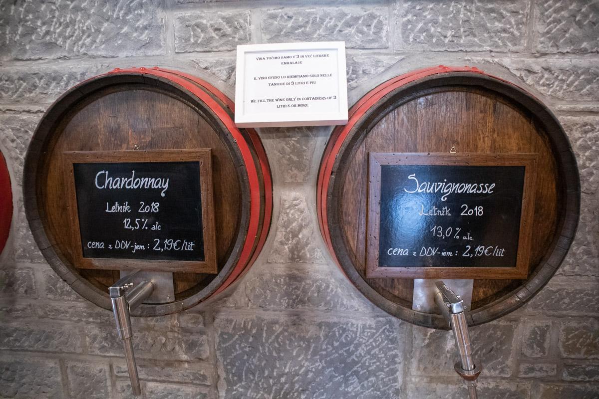 Goriska Brda vineyard Klet Brda