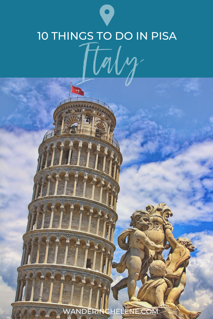 Pin for pinterest: things to do in pisa