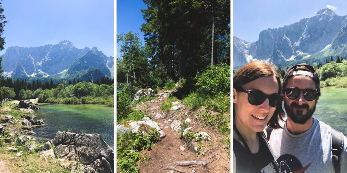 hike around upper fusine