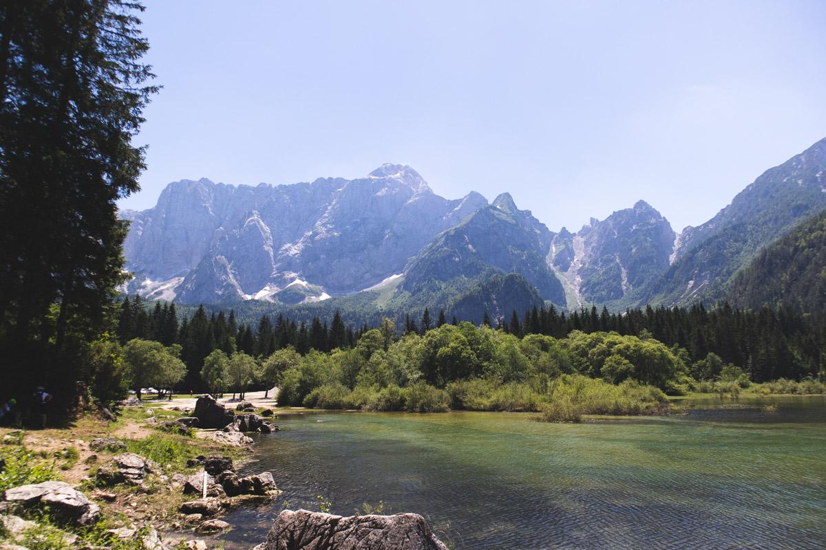 Lake Fusine Italy