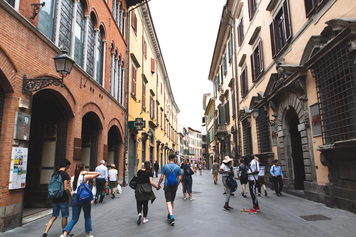 Corso Italia Pisa Italy