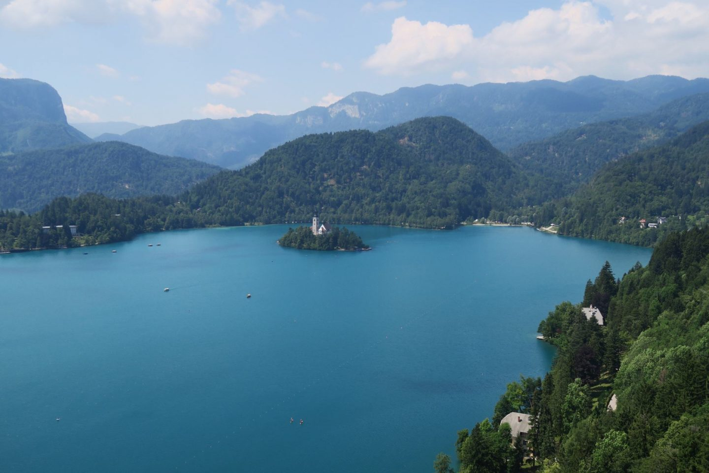 Lake Bled and the island