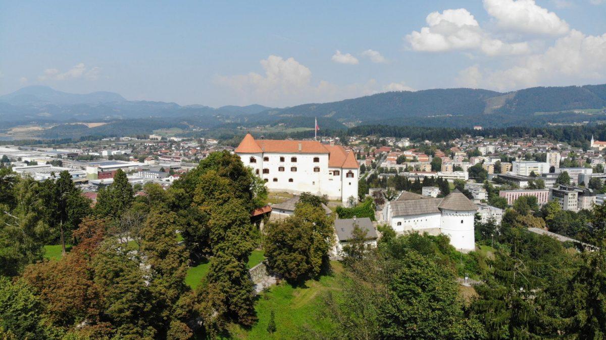 Velenje Castle and Velenje