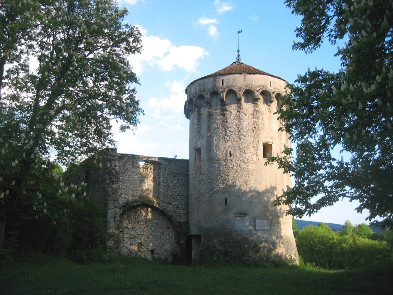 Grad Kalec castles in slovenia